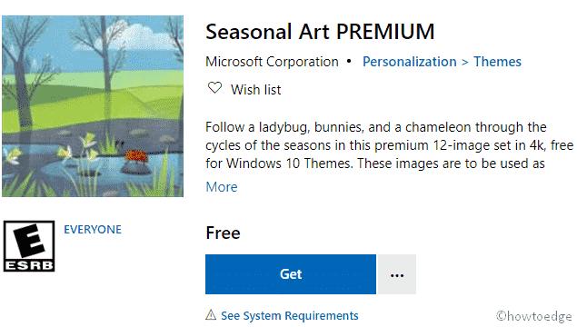 Seasonal Art PREMIUM Windows 10 Theme - image 2