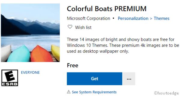 Colorful Boats PREMIUM