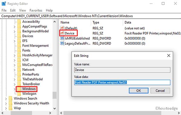 Printer Error 0x00000709