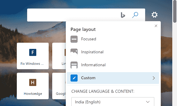 How to change Content Visibility on Microsoft Edge Chromium Image 2