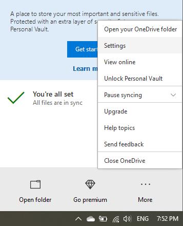 OneDrive error 0x8004de34