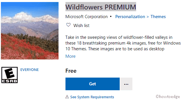 Wildflowers PREMIUM