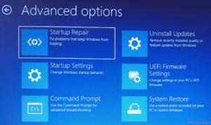 Error 0xc000014C Startup Repair