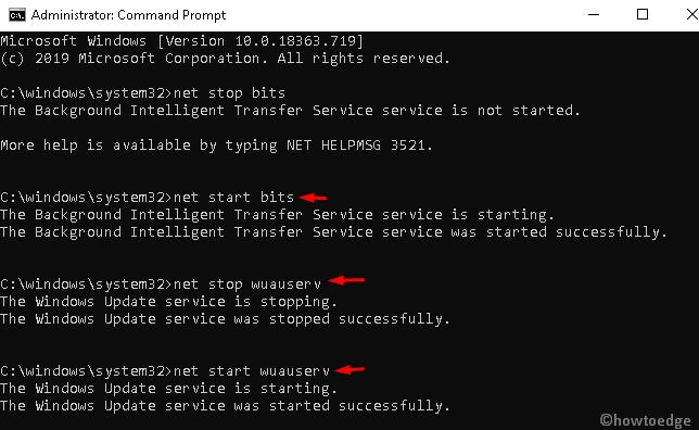 Error code 0x80070017