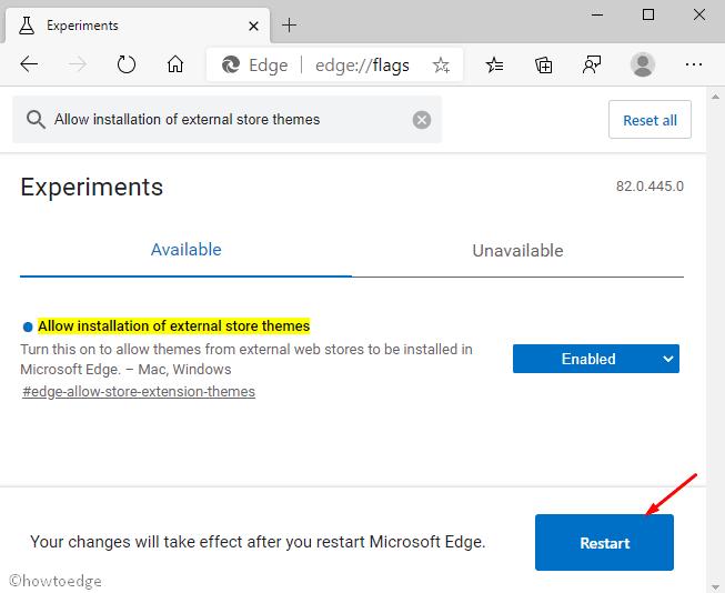 Chrome Themes on Microsoft Edge