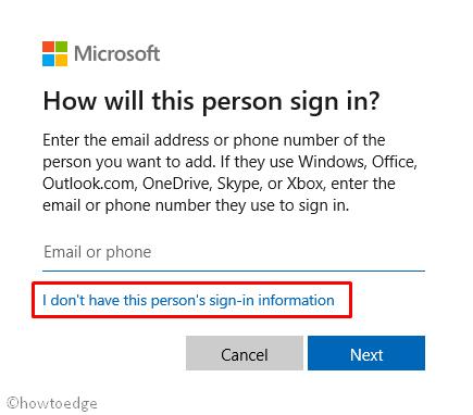 Microsoft Sign-in