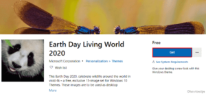 Earth Day Living World 2020