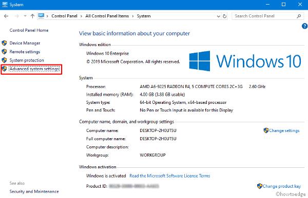 Error 0x80070070 in Windows 10