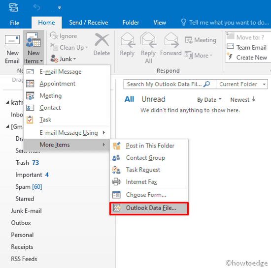 Outlook Error 0x80040600