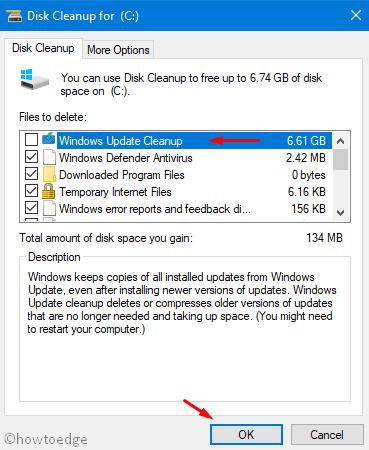 Delete Windows Update
