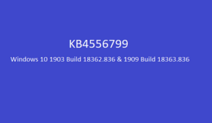 KB4556799