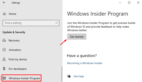 install Windows Insider Preview