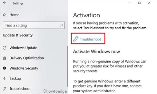 Activation Issue