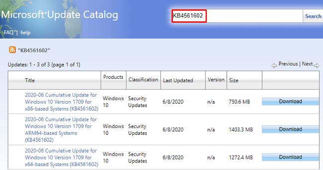 KB4561602