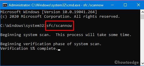 sfc/scannow 0x80200053