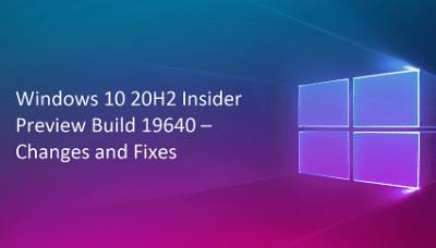 Build 19640