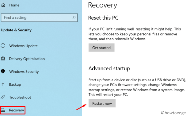 Your PC will automatically restart in one minute Error