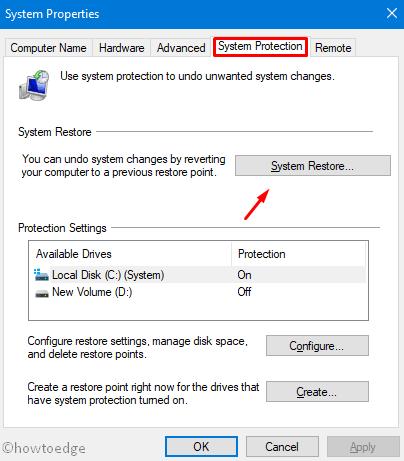 esentutl.exe error in Windows 10