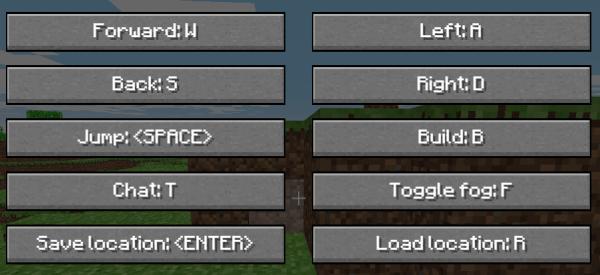 They Key shortcuts