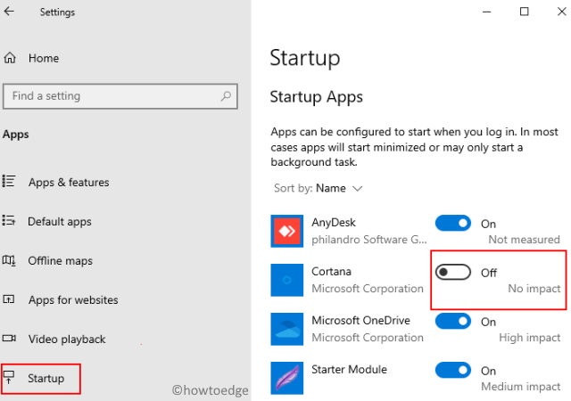 Stop Cortana from Restarting in Windows 10