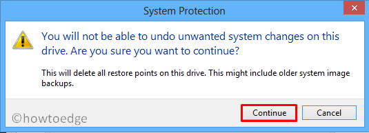 Delete System Restore Points