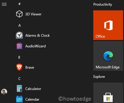 Enable Theme-Aware Start Menu on Windows 10 2004
