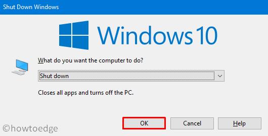 Shutdown Windows