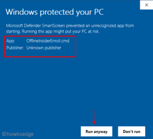 Windows 10 Insider Program using a Local Account