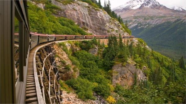 Windows 10 Natural Themes - Panoramic Train Views