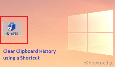 Clear Clipboard history using shortcut