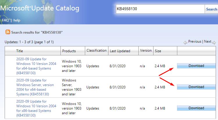 Intel Microcode Updates Sept 2020