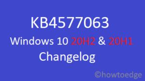 KB4577063