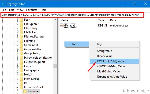 Right-click not working on Start Menu - Registry