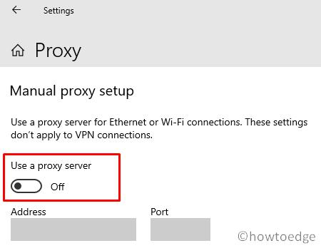 Store error 0x8004e108 - Proxy