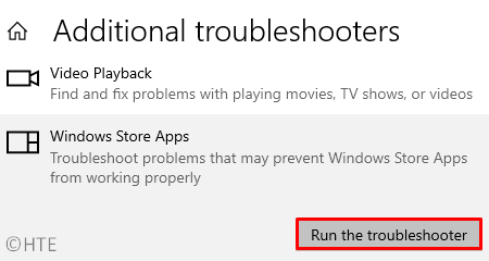 Troubleshoot Store Apps