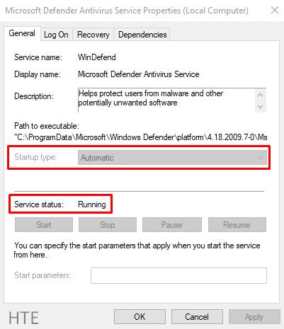 Fix Error Code 0x800704ec When Running Windows Defender