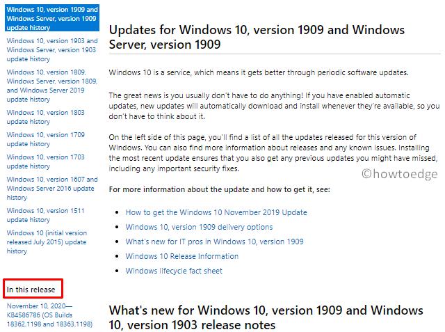 Fix Update Error Code 0x800705AA - Manually install LCU