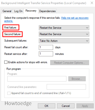 Fix the Error 0x80080008
