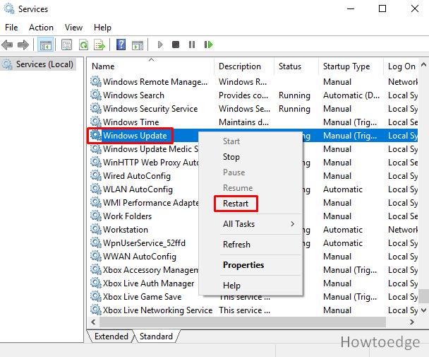 fix error 0x8024001F