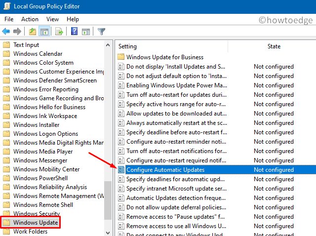 Disable Windows 10 Updates - Group Policy