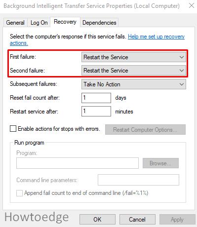 Fix Update error 0xc0000017
