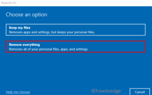 How can I Wipe Hard drive and reinstall Windows 10