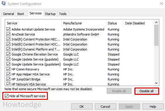 Fix Error 0X80190001 during Windows 10 Update or Setup