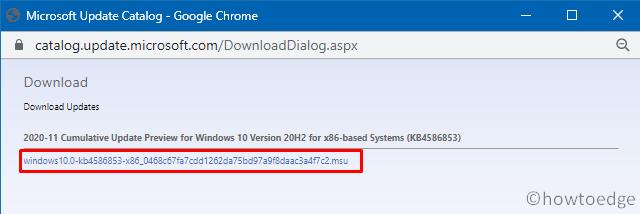 install Windows 10 Updates - MSU File Format