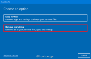 Securely Format Hard Disk in Windows 10 - Recovery