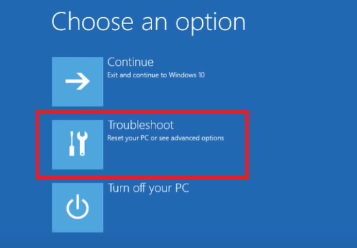 Windows 10 won't boot normally - Troubleshoot