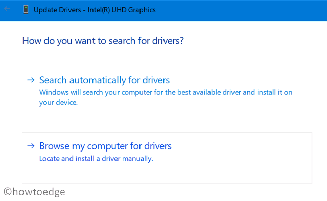 Browse My Computer