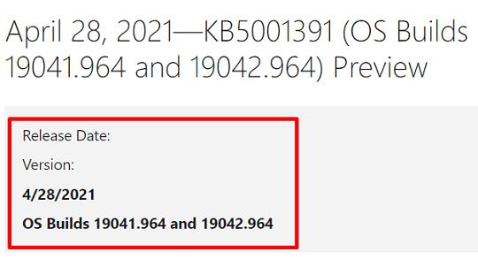KB5001391