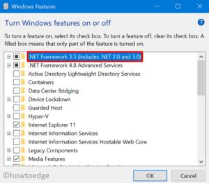.NET Framework Error 0x800F080C - Install version 3.5