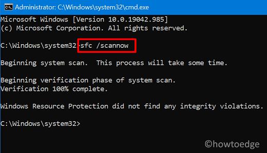 SFC - Error 0x80071128
